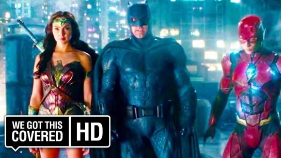 Justice League - Clip: Jim GOrdon Meets the Team