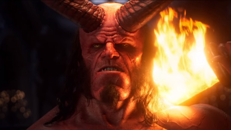 Nieuwe 'Hellboy'-film is extreem gewelddadig: Mega R-rated trailer!