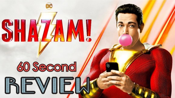 CinemaWins - Shazam! 60 second review (no spoilers)   cinemawins