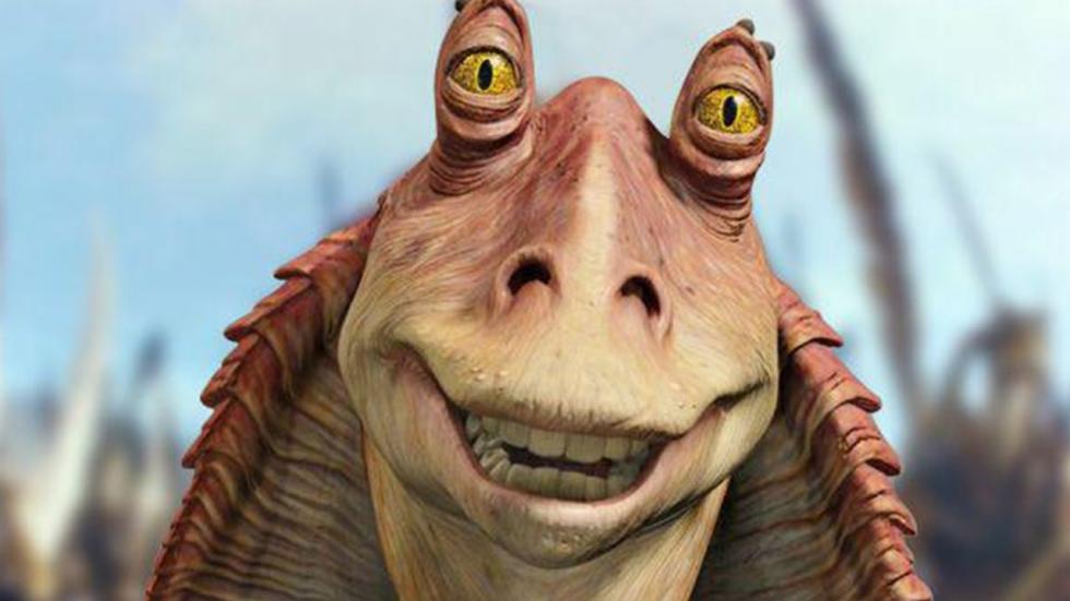 Jar Jar Binks is George Lucas' favoriete 'Star Wars' personage!
