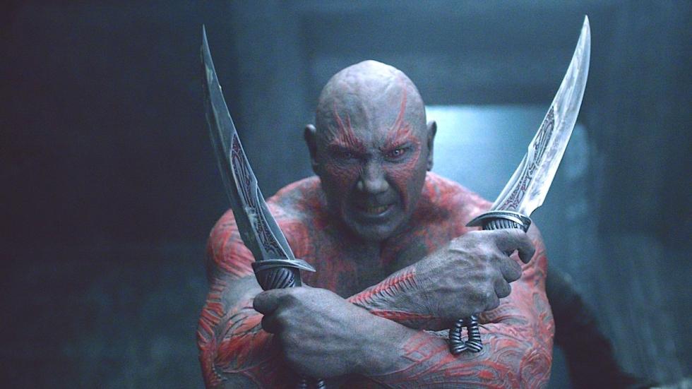 """Dave Bautista: """"Zonder James Gunn had Drax niet in derde 'Guardians of the Galaxy' gezeten"""""""