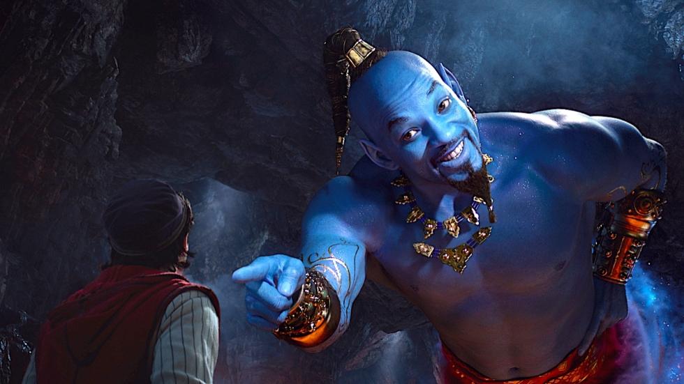 Will Smiths afgekraakte Genie leert Aladdin een lesje op nieuwe foto live-action verfilming