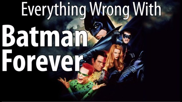CinemaSins - Everything wrong with batman forever in 18 minutes or less