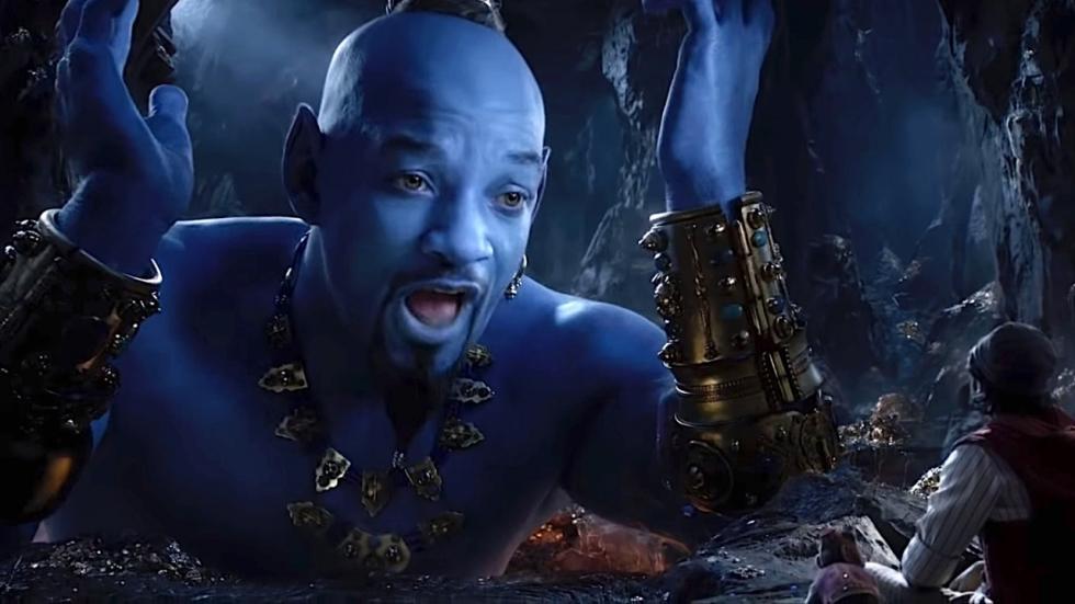 Will Smith loopt blauw aan in nieuwe beelden Disney's 'Aladdin'
