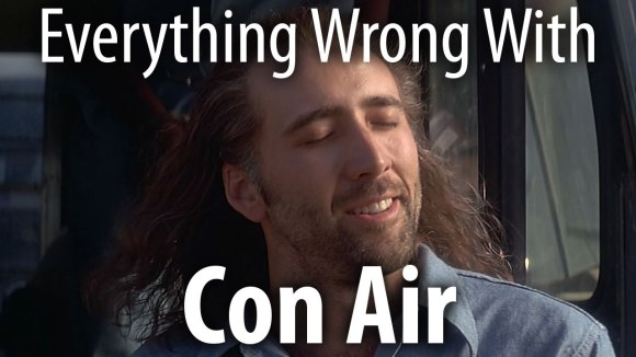 CinemaSins - Everything wrong with con air in 18 minutes or less
