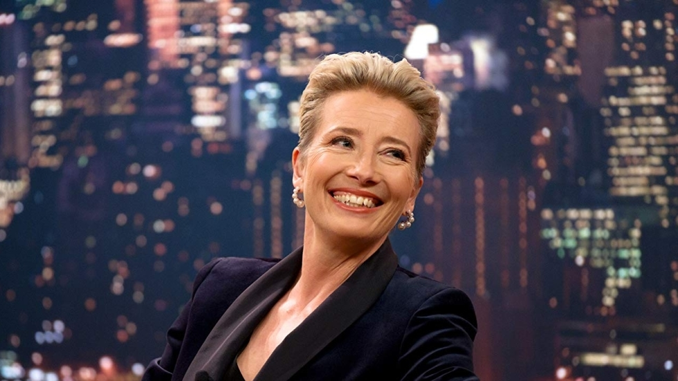 Emma Thompson is een talkshowpresentatrice in nood in nieuwe trailer 'Late Night'
