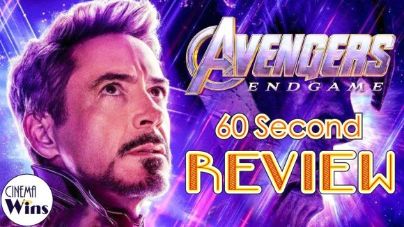 CinemaWins - Avengers: endgame 60 second review (no spoilers) | cinemawins