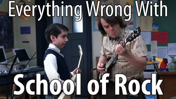 CinemaSins - Everything wrong with school of rock in 16 minutes or less.
