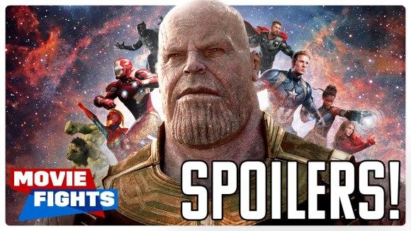 ScreenJunkies - Avengers: endgame movie fights (spoilers)
