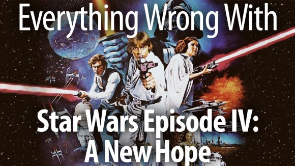 CinemaSins - Everything wrong with star wars episode iv a new hope - with kevin smith