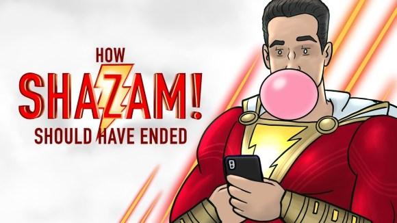 How It Should Have Ended - How shazam should have ended