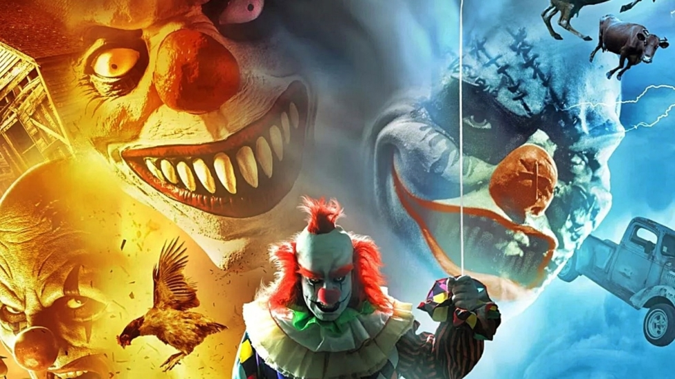 Demonische clowns en tornado's komen samen in de 'Clownado'-trailer
