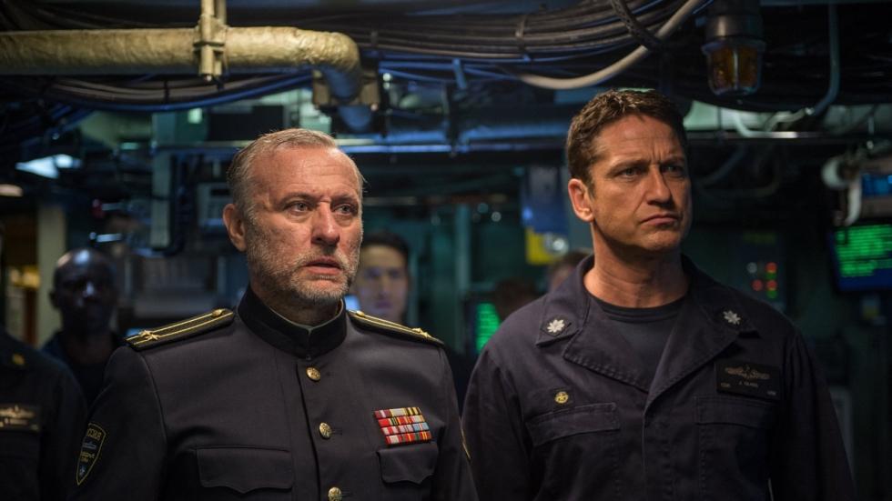 Blu-ray review prima 13-in-een-dozijn actiethriller 'Hunter Killer'