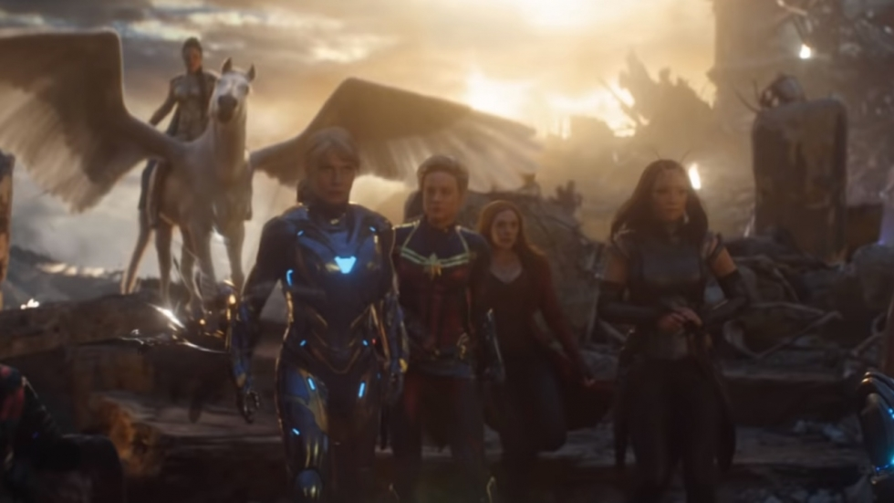 Complete A-Force op gave foto 'Avengers: Endgame'!