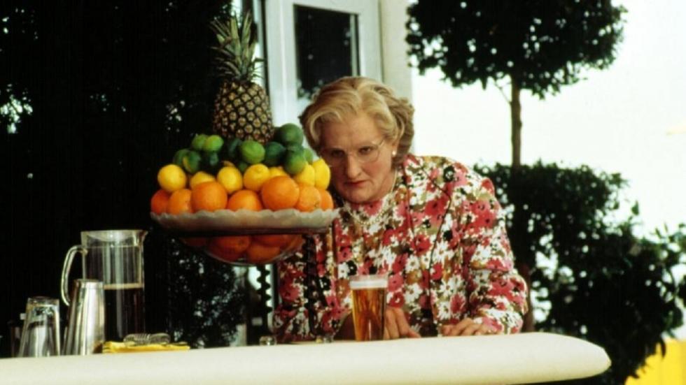 Mrs. Doubtfire (1993) was oorspronkelijk veel duisterder en droeviger