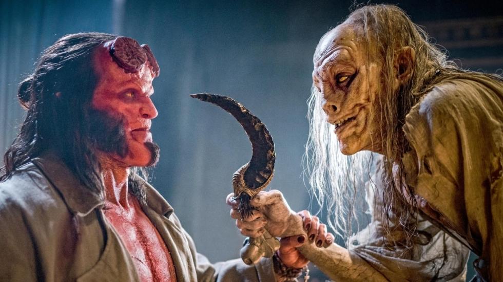 'Hellboy'-ster David Harbour kan geen chocolade van reboot maken