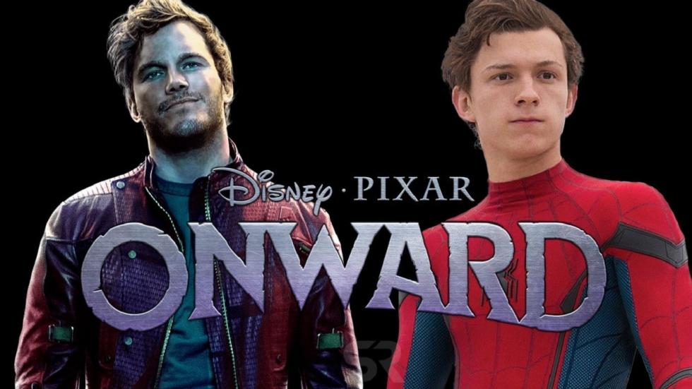 Pixars 'Onward' onthult figuren Tom Holland en Chris Pratt