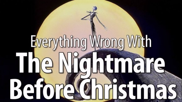 CinemaSins - Everything wrong with the nightmare before christmas