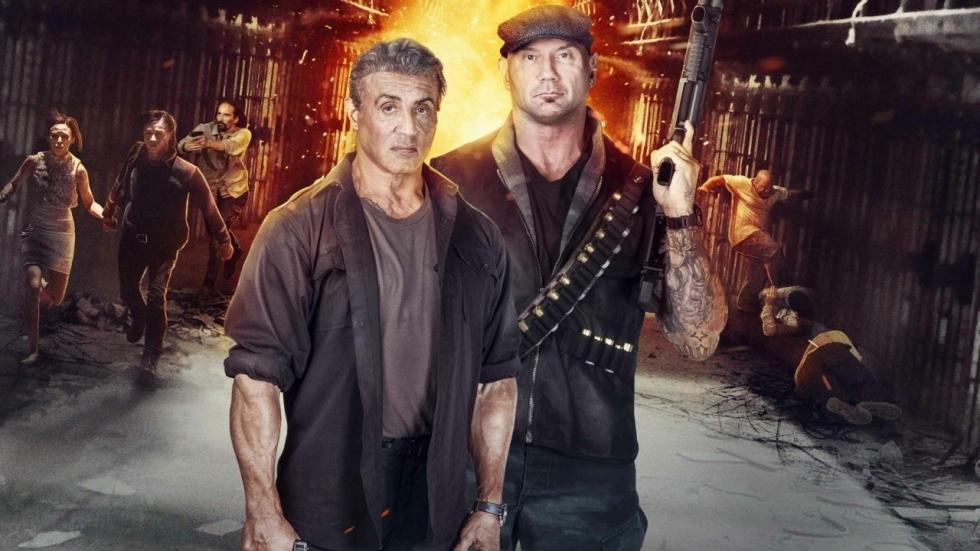 Sylvester Stallone en Dave Bautista knokken zich een weg door keiharde trailer 'Escape Plan: The Extractors'