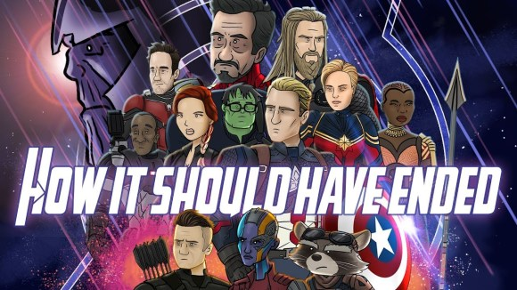 How It Should Have Ended - How avengers endgame should have ended
