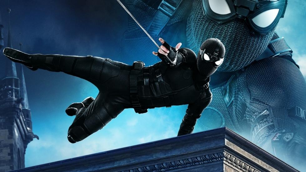 De vele pakken staan centraal in 'Spiderman: Far From Home'-beelden!