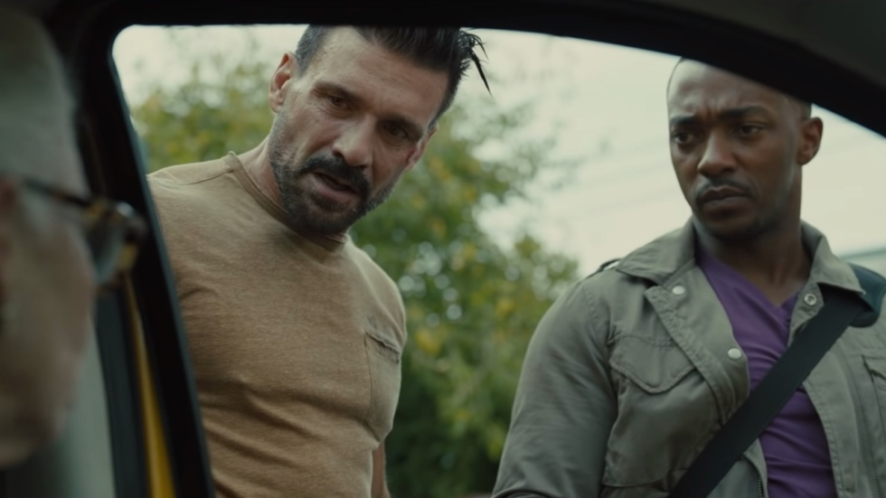 Trailer Netflix-thriller 'Point Blank' met 'Captain America'-collega's Anthony Mackie en Frank Grillo