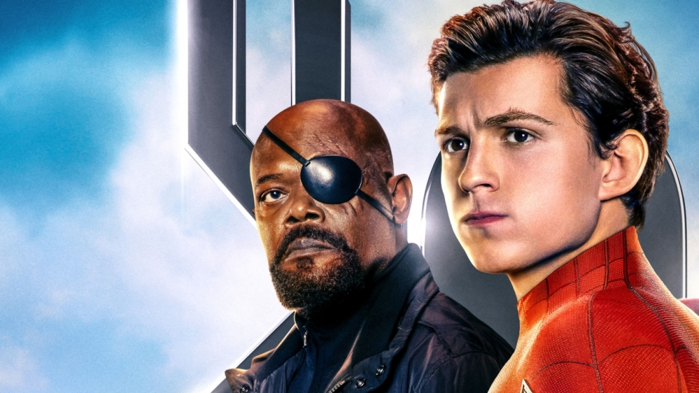 Samuel L. Jackson uit verbazing over Nick Fury-posters 'Spiderman: Far From Home'