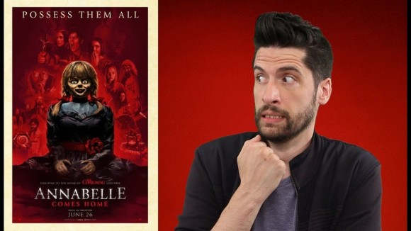 Jeremy Jahns - Annabelle comes home - movie review