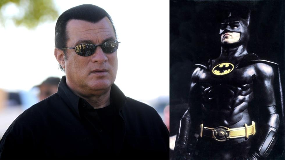 Steven Seagal was de oorspronkelijke favoriet om Batman te spelen