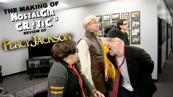Channel Awesome - Percy jackson and the lightning thief - making of nostalgia critic