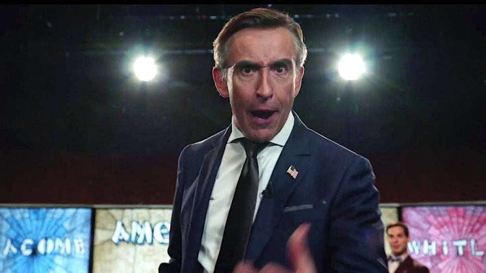 Steve Coogan als uitgesproken rechtse radiopresentator in trailer 'Hot Air'