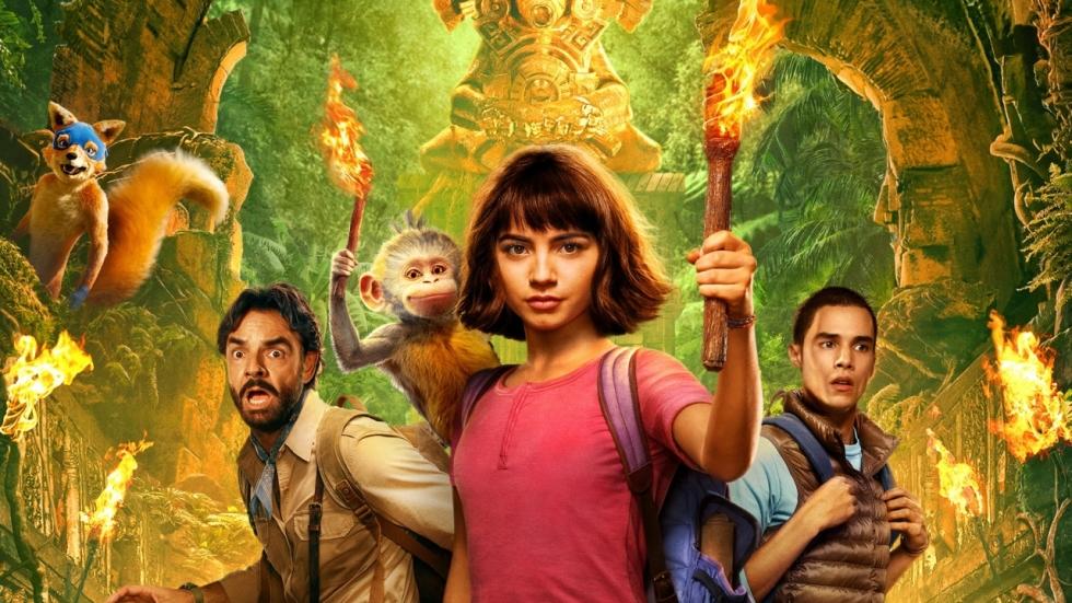 Dora met Boots en Swiper in trailer 'Dora and the Lost City of Gold'!