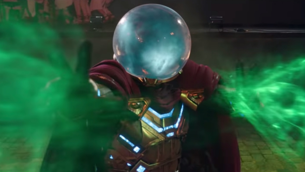 Bijna compleet andere Mysterio in 'Spider-Man: Far from Home'