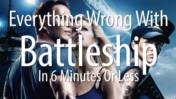 CinemaSins - Everything wrong with battleship in 6 minutes or less