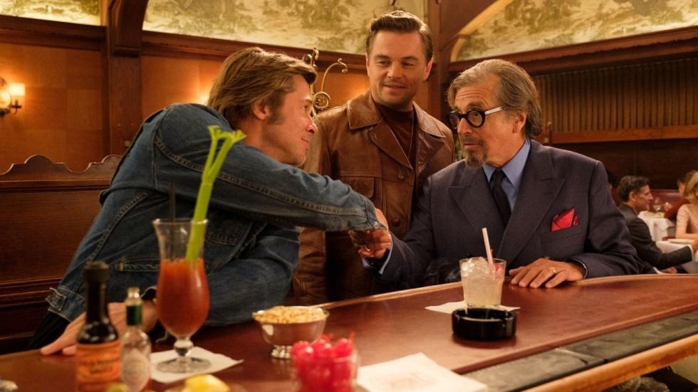 Eerste clip 'Once Upon a Time in Hollywood' met Brad Pitt, Leonardo DiCaprio en Kurt Russel!