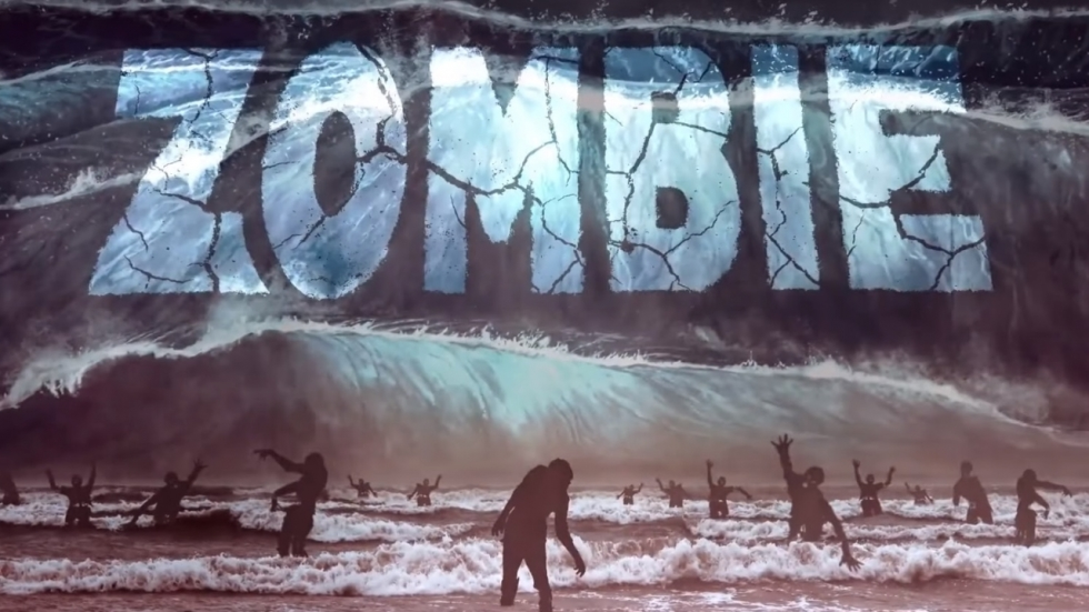Zombie-tsunami in trailer 'Zombie Tidal Wave'!