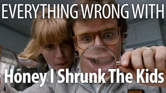 CinemaSins - Everything wrong with honey i shrunk the kids