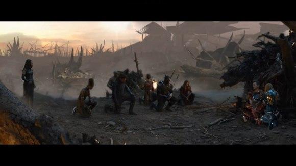 Emotionele scène 'Avengers Endgame'