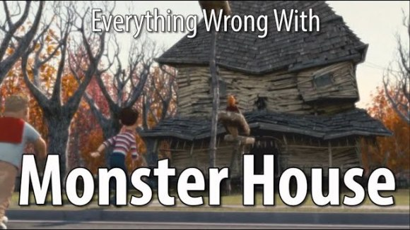 CinemaSins - Everything wrong with monster house in 12 minutes or less