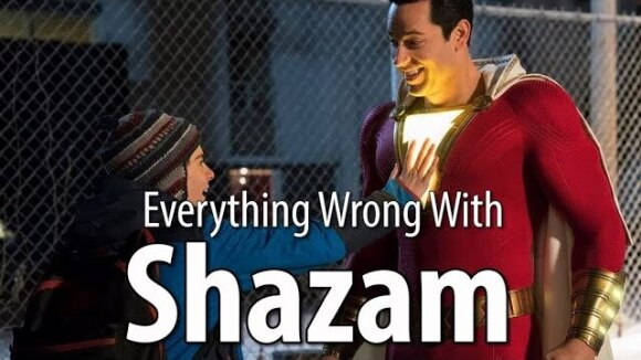 CinemaSins - Everything wrong with shazam! in 17 minutes or less