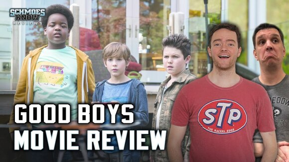 Schmoes Knows - Good boys movie review