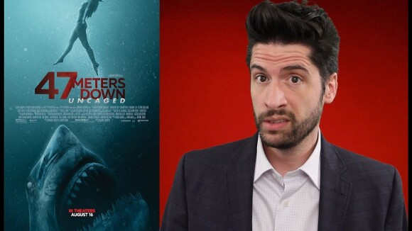 Jeremy Jahns - 47 meters down: uncaged - movie review
