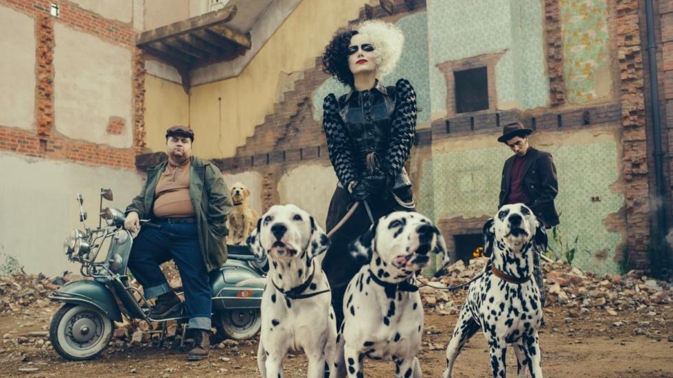 Eerste blik op Emma Stone als 'Cruella'