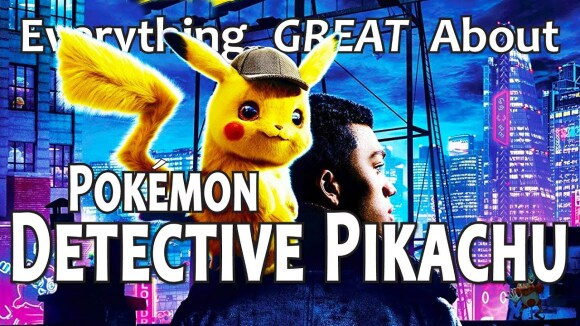 CinemaWins - Everything great about pokémon detective pikachu!