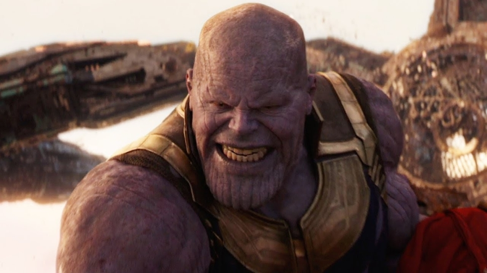 Opvallende foto's Thanos uit 'The Avengers'