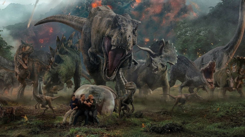 Eerste filmposter onverwachte korte 'Jurassic World'-film 'Battle at Big Rock'!