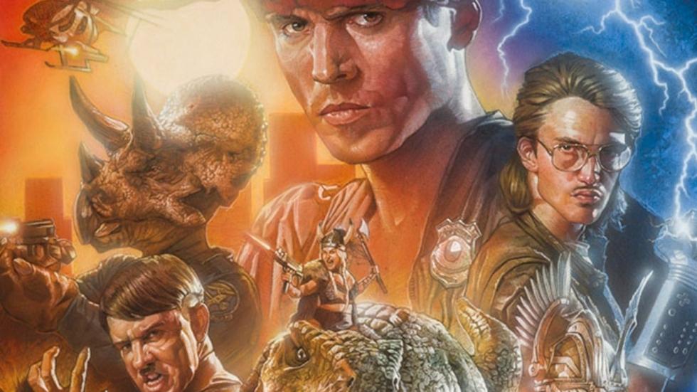 Eerste foto 'Kung Fury 2': Arnold Schwarzenegger is de nieuwe Amerikaanse president