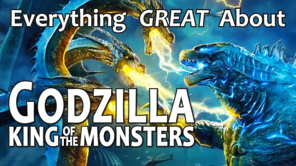 CinemaWins - Everything great about godzilla king of the monsters!
