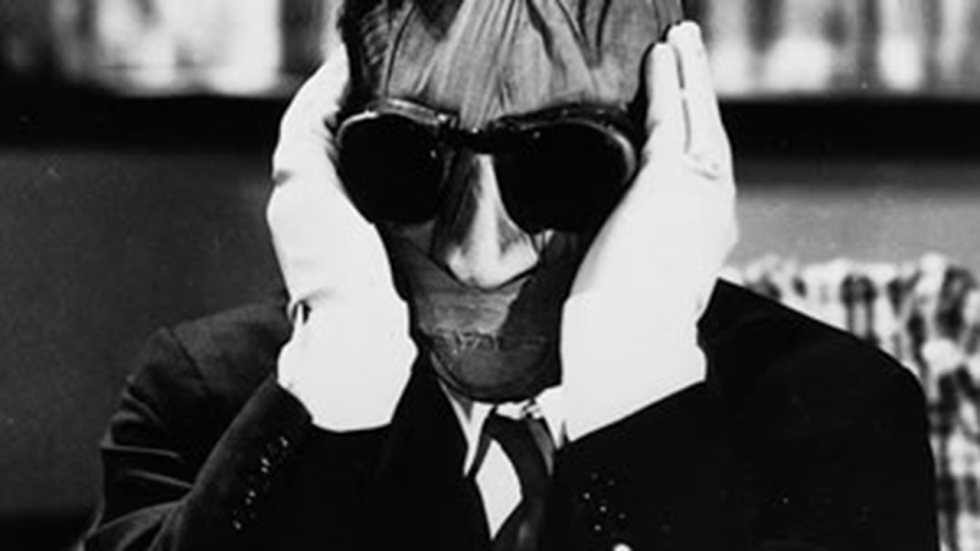 'The Invisible Man' staat op tape