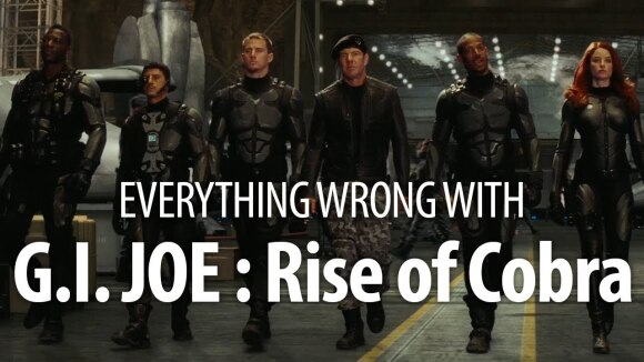 CinemaSins - Everything wrong with g.i. joe: the rise of cobra in 18 minutes or less